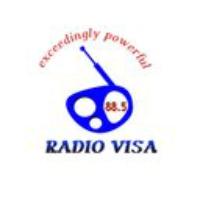 Logo of radio station radio visa 88.5
