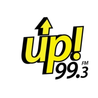 Logo of radio station CIUP-FM up! 99.3