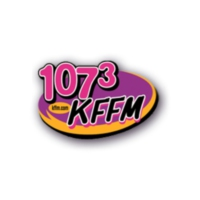 Logo of radio station 107.3 KFFM