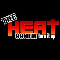 Logo of radio station The Heat 99.1 FM