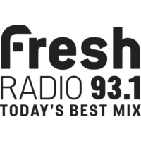 Logo of radio station CHAY-FM 93.1 Fresh Radio