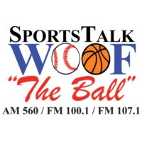 Logo of radio station WOOF Sports Talk The Ball