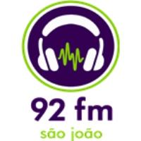 Logo of radio station Rádio 92 FM 92.1 FM Sao Joao da Boa Vista, SP