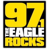 Logo de la radio KEGL 97.1 The Eagle Rocks