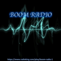 Logo of radio station Boom Radio