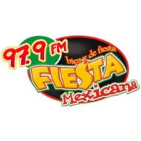 Logo of radio station XHEBC Fiesta Mexicana 97.9