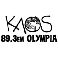 Logo of radio station KAOS 89.3 FM Olympia