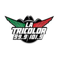 Logo of radio station KRCX-FM La Tricolor 99.9