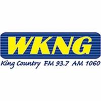 Logo of radio station WKNG King Country 1060