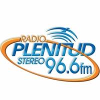 Logo of radio station Plenitud Stereo 96.6 FM