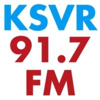 Logo of radio station KSVR 91.7 FM