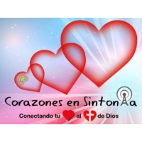 Logo of radio station Corazones en sintonía/Hearts in tune