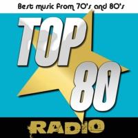 Logo of radio station TOP 80 radio