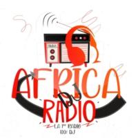 Logo of radio station AFRICA DJ RADIO