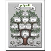 Logo of radio station إذاعة عشائر العزام