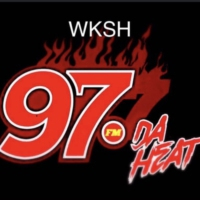 Logo of radio station WKSH 97.7 FM DA HEAT
