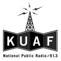 Logo de la radio KUAF 91.3 FM