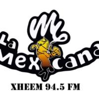 Logo of radio station La M Mexicana 94.5 FM