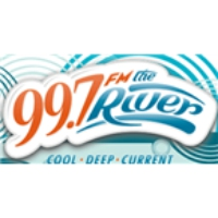 Logo of radio station 99.7 The River