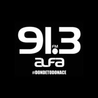 Logo de la radio XHMF Alfa 91.3 FM