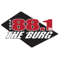 Logo of radio station KCWU 88.1 The 'Burg