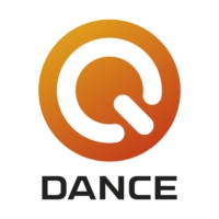 Logo of radio station Q-dance