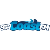 Logo of radio station CFPW 95.7 Coast FM