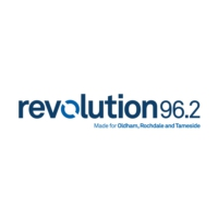 Logo de la radio Revolution 96.2