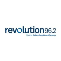 Logo of radio station Revolution 96.2