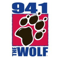 Logo de la radio WLFP 94.1 FM The Wolf