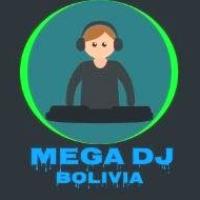 Logo of radio station mega dj Bolivia