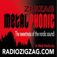 Logo de la radio Zig Zag Metal Phonic