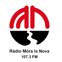 Logo of radio station Ràdio Móra la Nova 107.3 FM