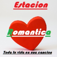 Logo of radio station Estacion Romantica Radio