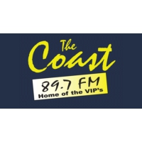 Logo of radio station CKOA-FM The Coast 89.7