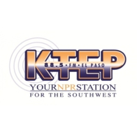 Logo of radio station KTEP 88.5 FM