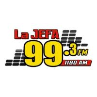 Logo of radio station WGUE La Jefa 99.3
