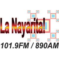 Logo of radio station La Nayarita!