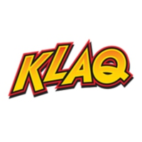 Logo of radio station 95.5 KLAQ