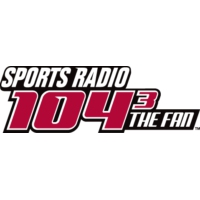Logo of radio station KKFN 104.3 The Fan