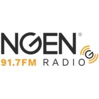 Logo de la radio KXNG 91.7 NGEN Radio