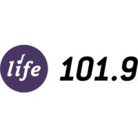 Logo of radio station KNWS LIFE 101.9