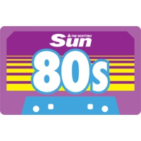 Logo de la radio Scottish Sun 80s