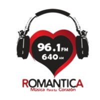 Logo of radio station XHTAM-FM Romántica 96.1