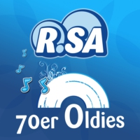 Logo of radio station R.SA 70er Oldies