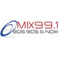 Logo of radio station Mix 99.1