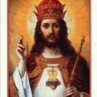 Logo of radio station Katolickie Radio Chrystusa Króla w Liverpoolu