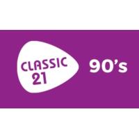 Logo de la radio Classic 21 - 90's (RTBF)