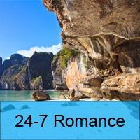 Logo de la radio 24-7 Romance