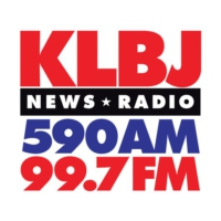 Logo of radio station KLBJ News Radio
